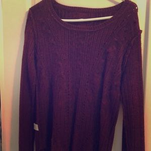 Perfect Burgundy Pullover